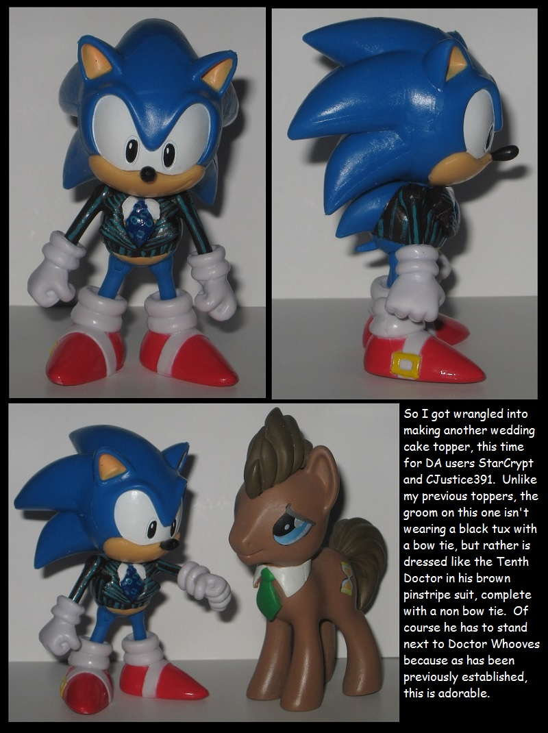 Custom Commission: Tenth Doctor Sonic