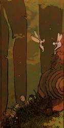 Fairies and runestone