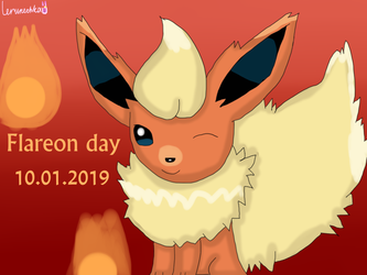 Flareon day