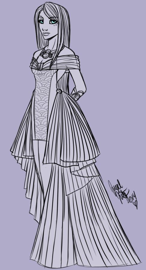 Fancy Dress Doodle