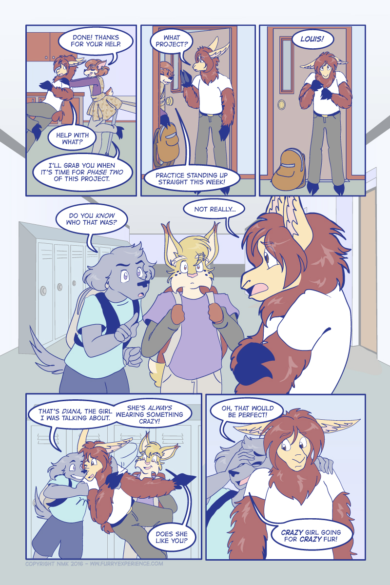 Most recent image: Furry Experience Page 516