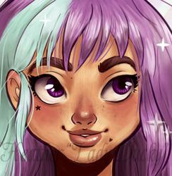 Personal: Purple Magical Girl