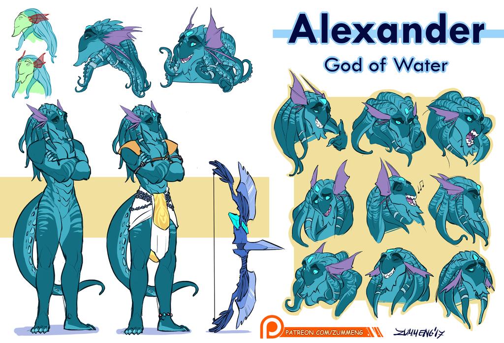 Alexander - God of Water