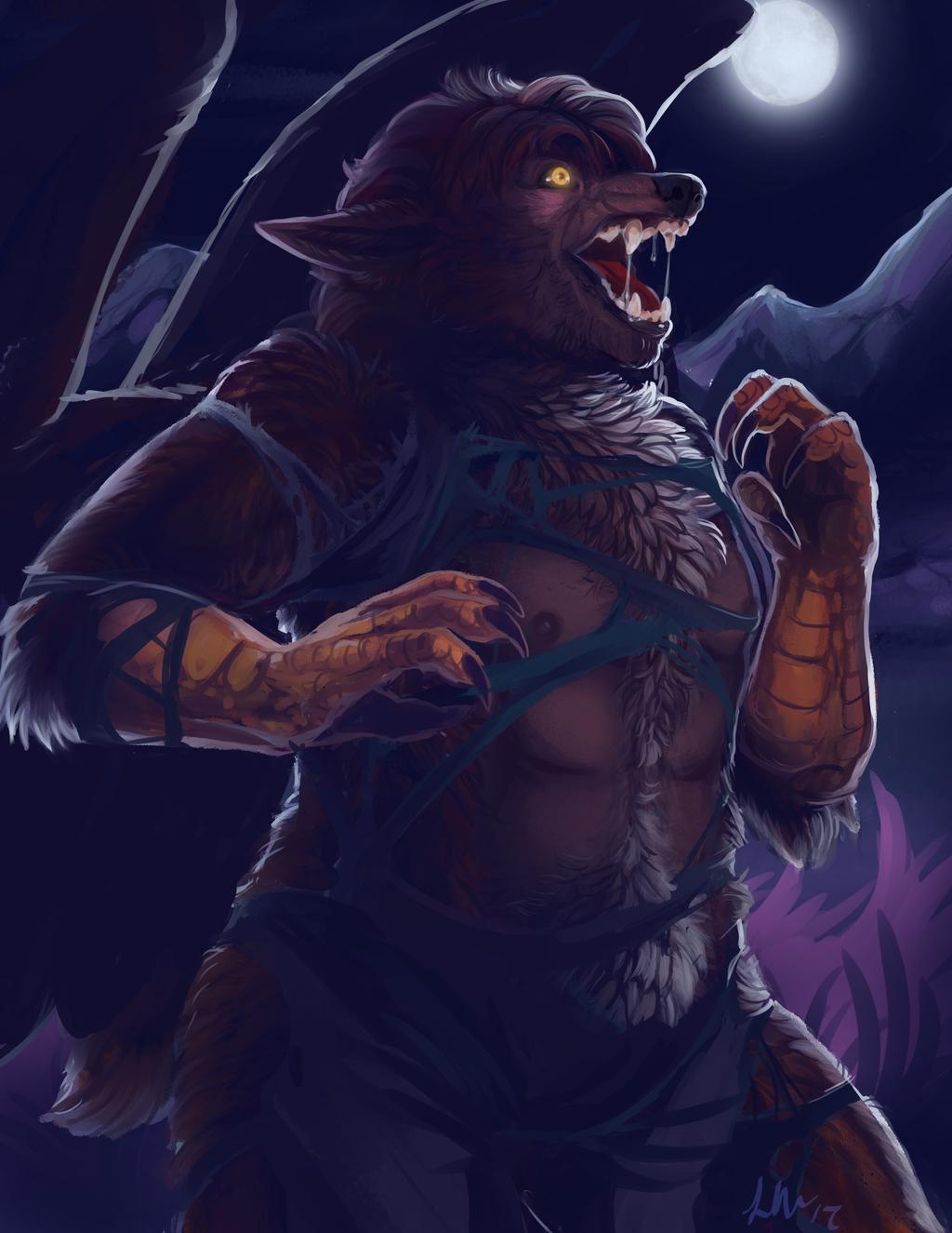 [Commission]-Pheagle werewolf