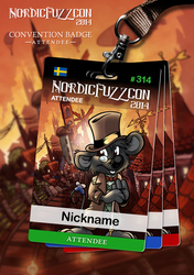 NFC 2014 Badges : Attendee [1/4]