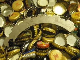 clutch plate bottle opener