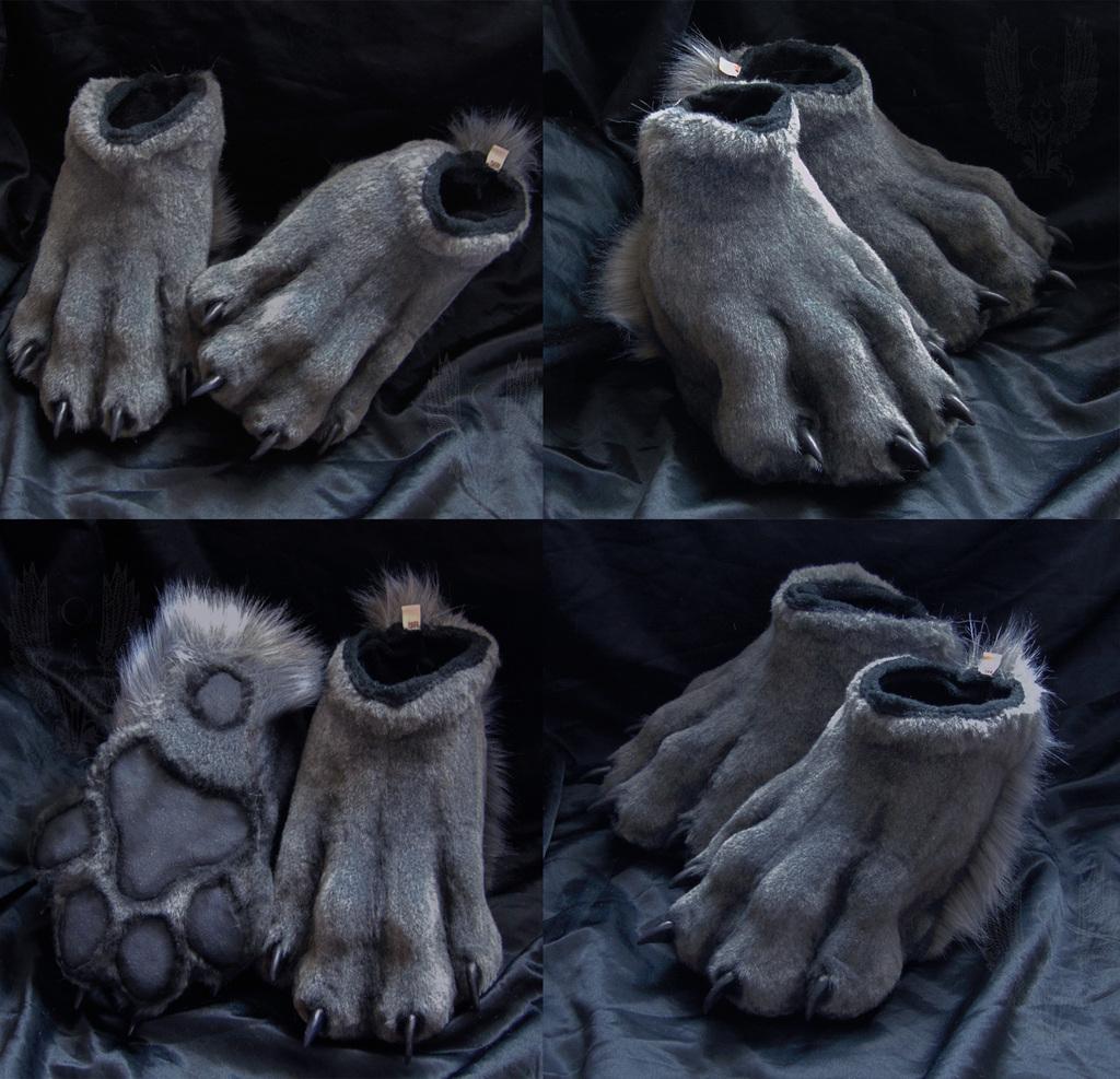 Lobo feetpaws