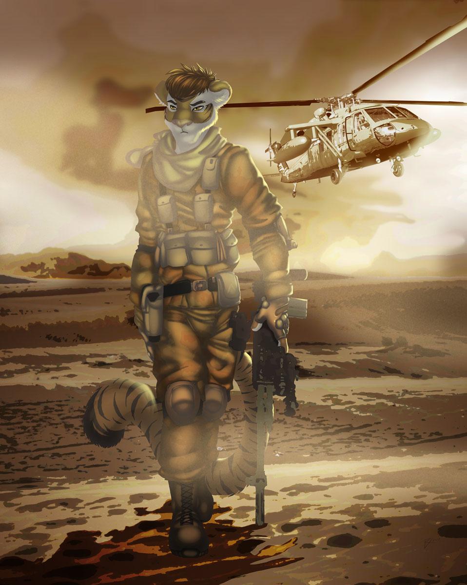 Modern Warfur - Lone Tiggs