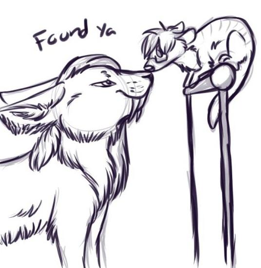 """""""Found ya~"""" [By VampireKitty]"""