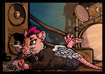 [Trade + SpeedPaint] Viper the Rat