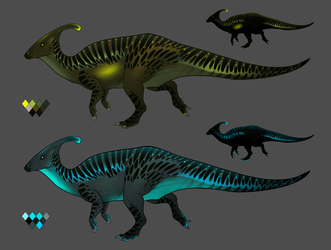 Parasaurs Batch 2 - BioToxin