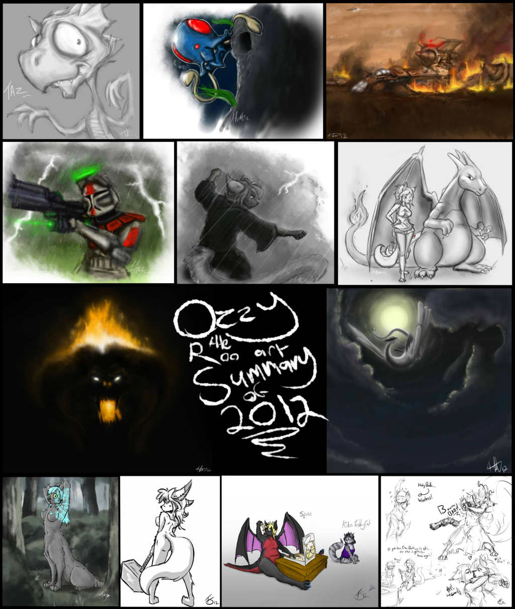 Art summary 2012 - Ozzy the Roo