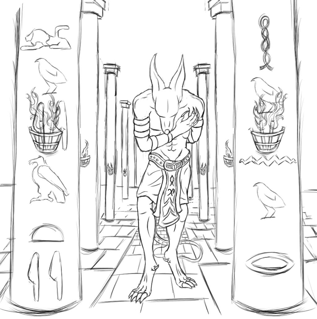 Oath Forsworn (Sketch Phase)