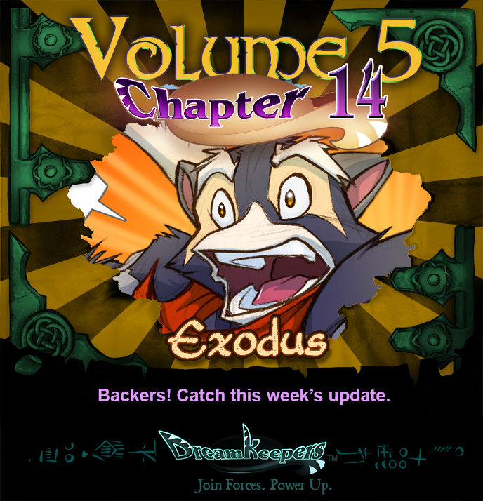 Volume 5 page 75 Update Announcement