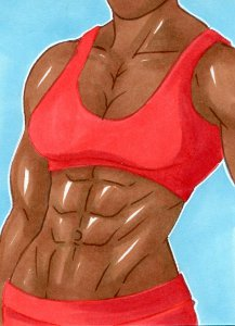 Most recent image: Fitness Lady