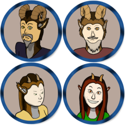 Token Sheet-Satyrs