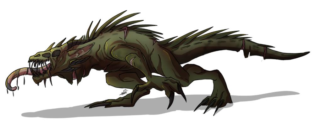 150222 Undead Dragon