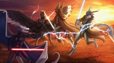 star wars - group comish