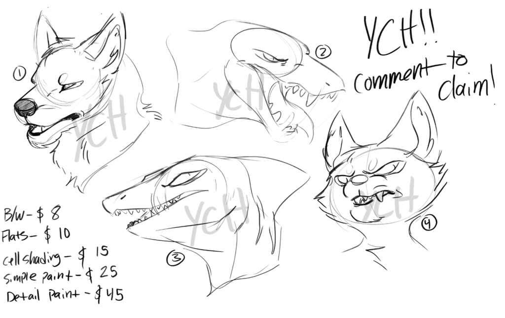 YCH! Choose your tier!