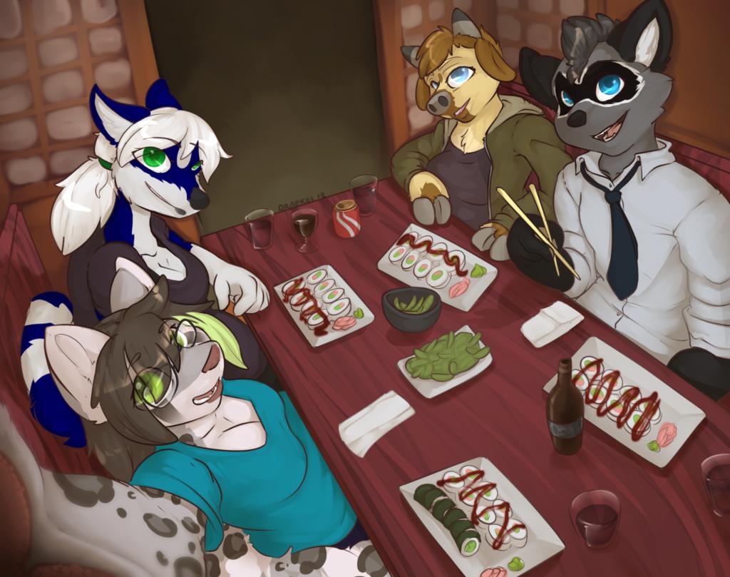 Most recent image: [c] Kae dinner selfie