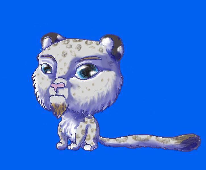 Chibi Preston Leopard