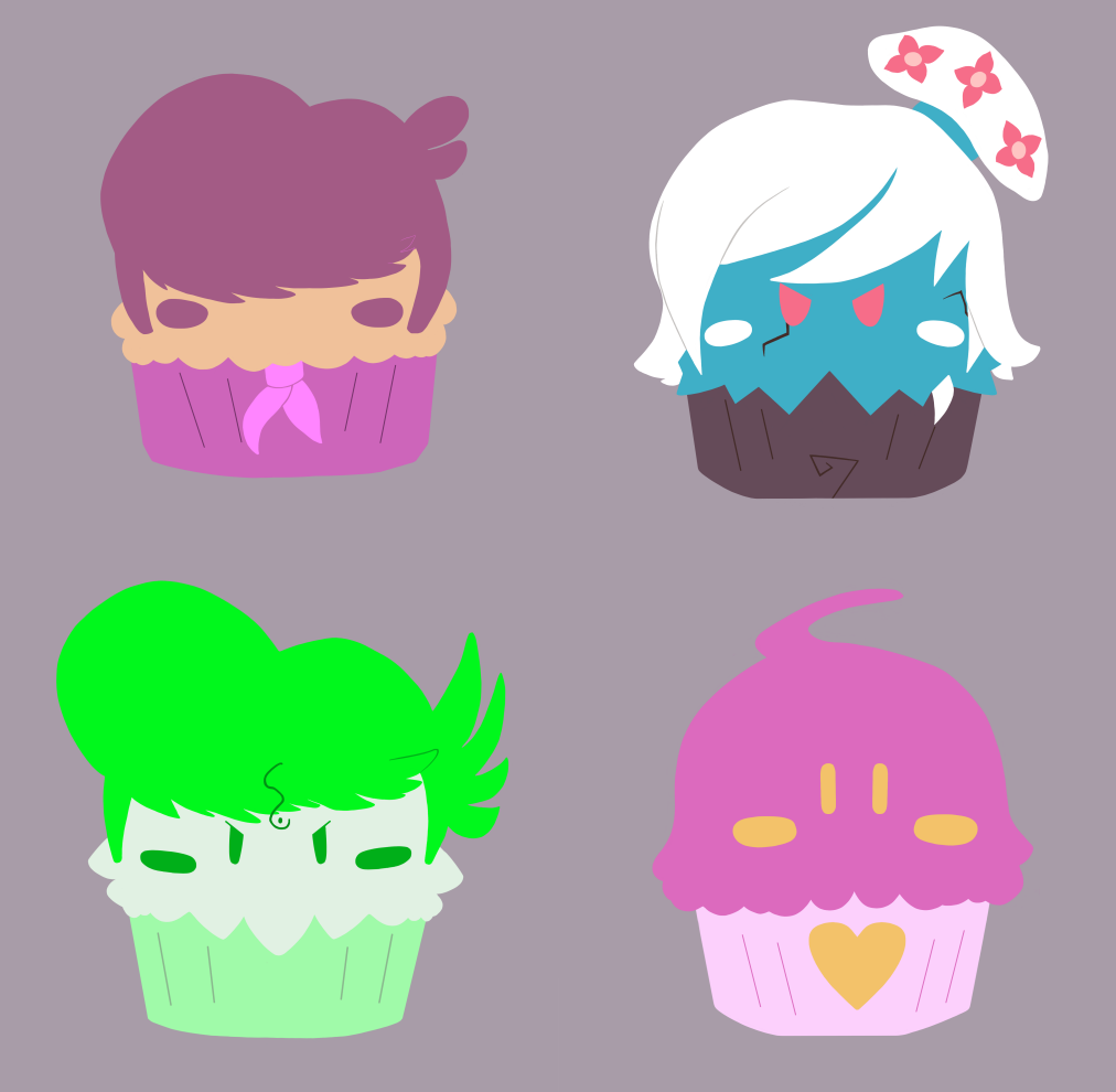 Mystery Muffins - Set Two