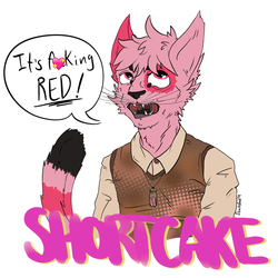 Shortcake - ANW Meme Badge