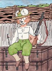 Armed Anthros: Winchester 1897 Trench Gun