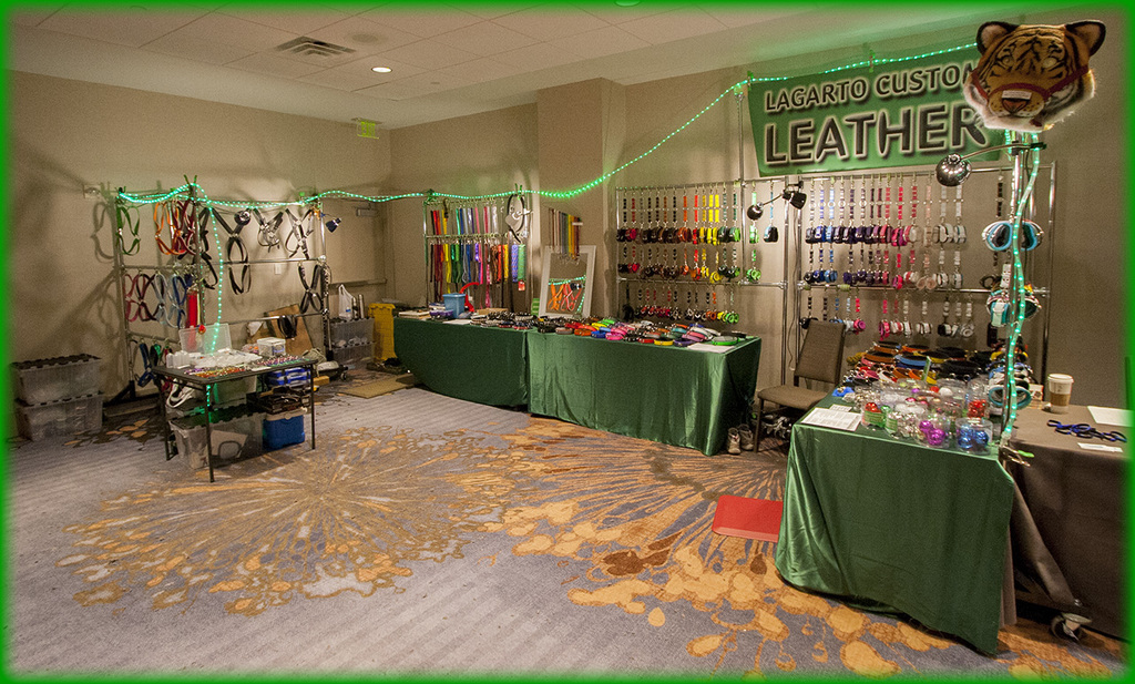 FWA 2014 Lagarto Custom Leather Booth