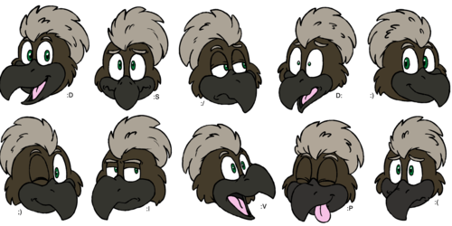 Commission - Irbisgreif Telegram Stickers