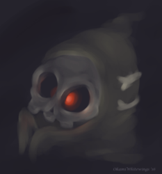 Pokemon Drawlloween - 9 Eyeball