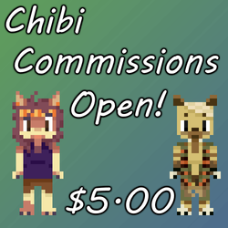 Pixel Chibi Commissions: Open!