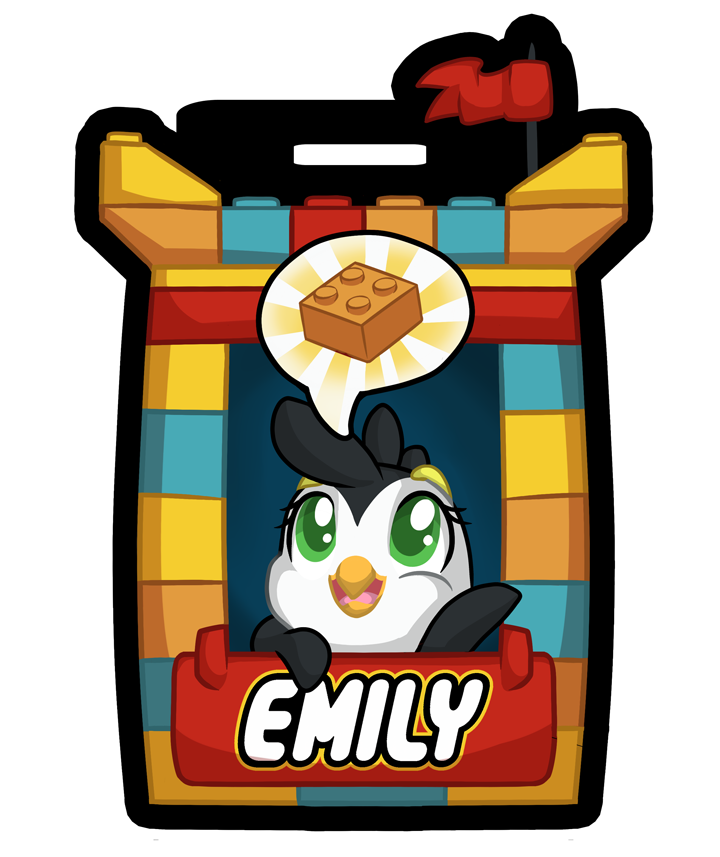 Lego Badge! (Commissions Available)