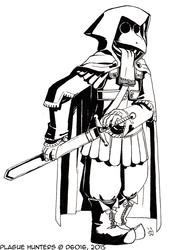 Daily Newf 52 - 6th Century Plague Hunter