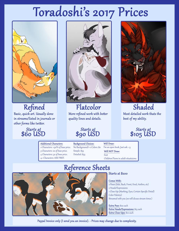 2017+ Price Sheet