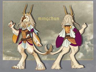 Rin - Mingchun Outfit Design