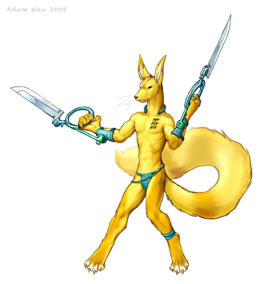 Kamaq the Citra Warrior