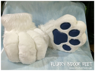Flurry's Indoor Feet