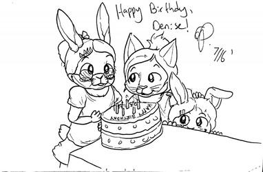 Denise's Birthday! (July 2016)