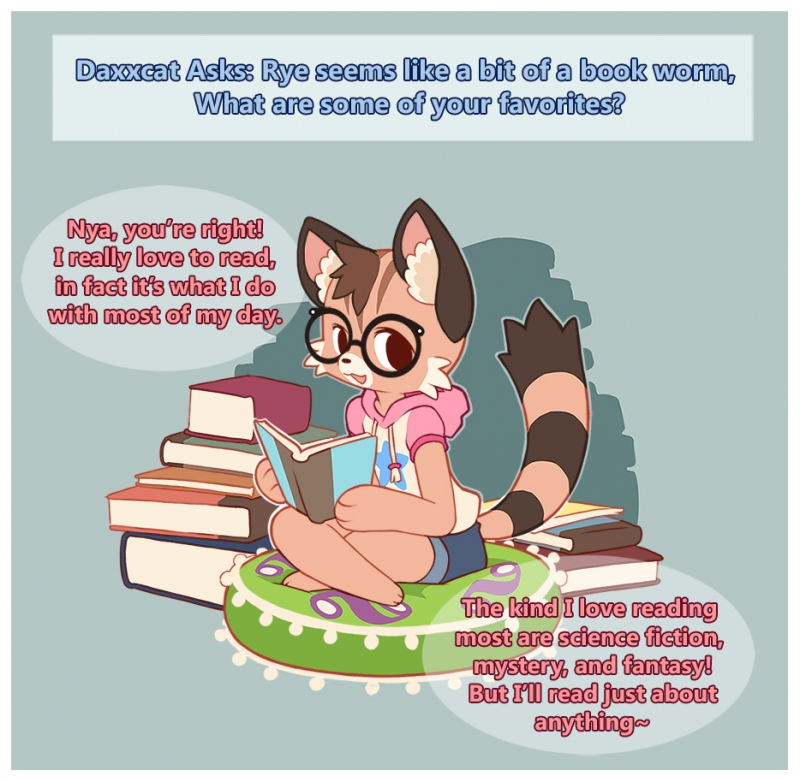 Reading Rye-nbow