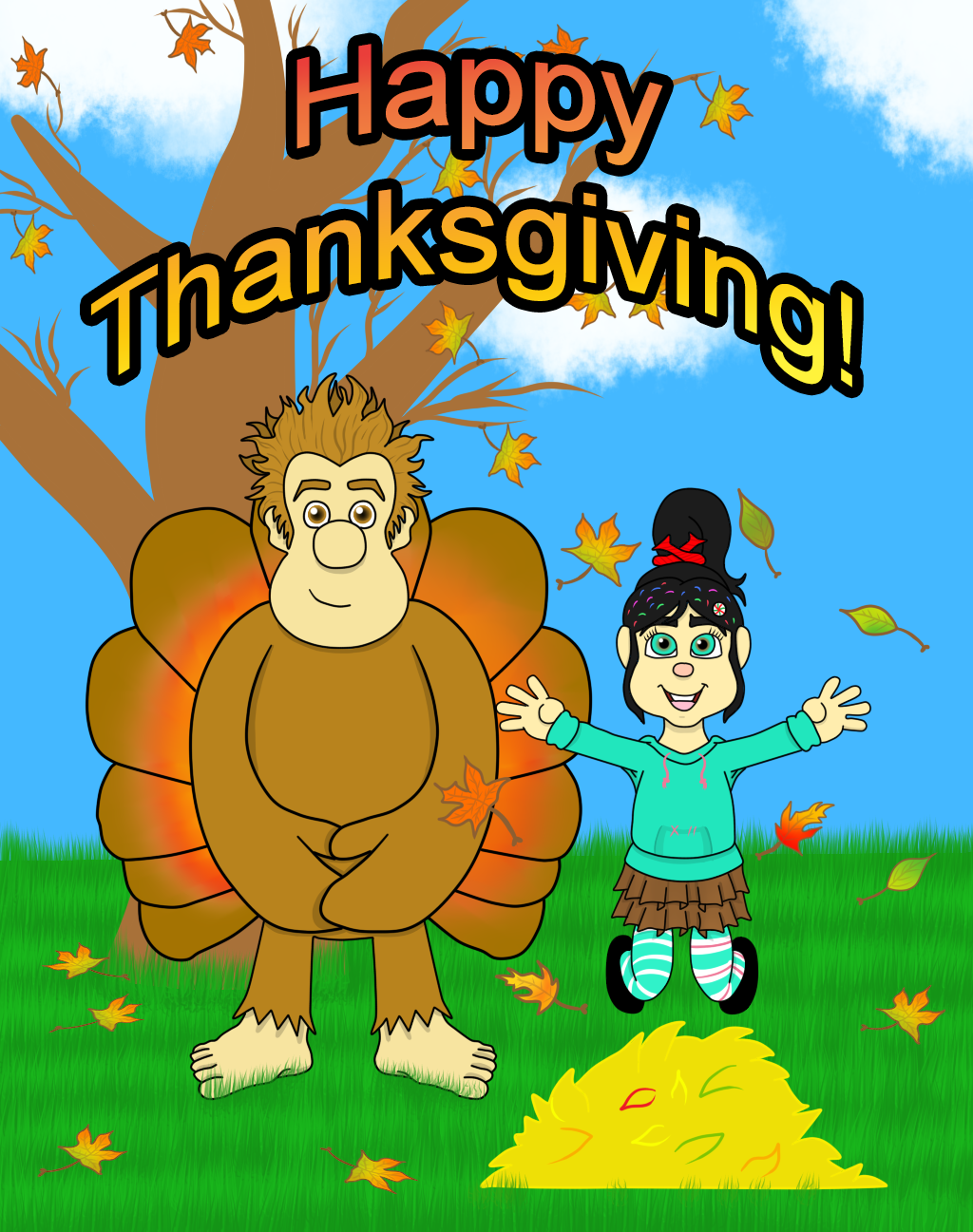 A Wreck-It Thanksgiving