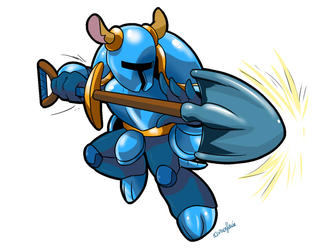 Shovel Knight (furry version)