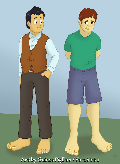 Human Peter and James -color-
