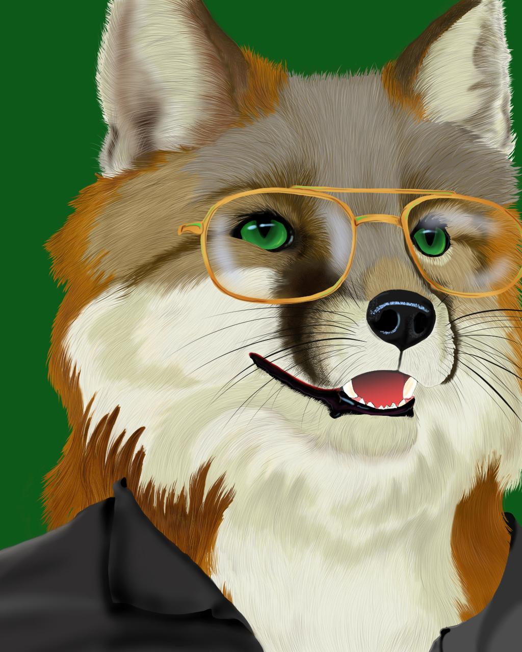 Fox's Fox Portrait