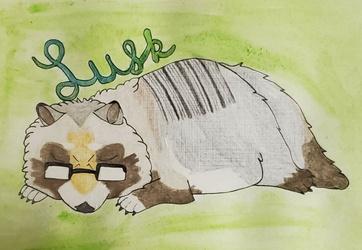 Badge - Lusk