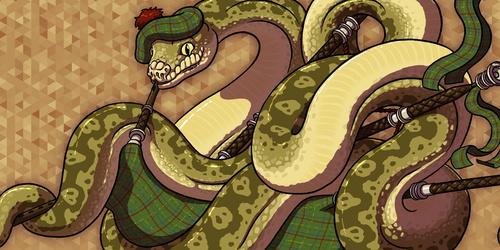 Snake McBagpipes