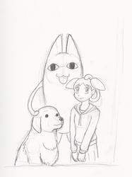 Chiyo-Chan's Family Portrait