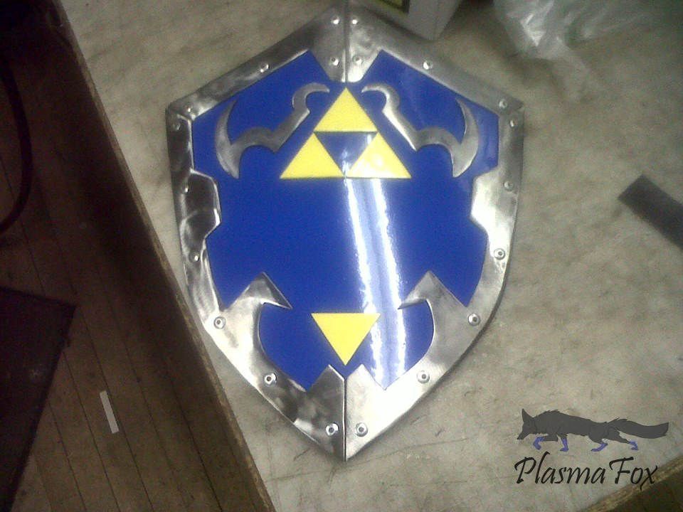 Most recent image: Legend of Zelda Shield (WIP)