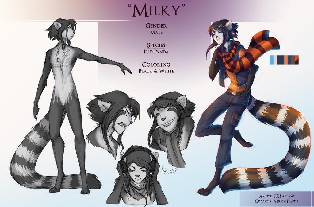 Commission - Milky Panda Refsheet