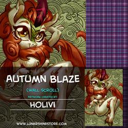 Autumn Blaze by Holivi